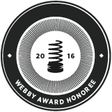 Webby Honoree Badge